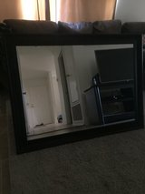 Large framed mirror in 29 Palms, California