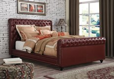 "NEW! LUXURIOUS UPSCALE ""PORTINI COLLEZZION"" QUEEN TUFFTED BEDFRAME in Camp Pendleton, California"