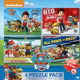 Paw Patrol 4 Puzzle Pack in Lockport, Illinois