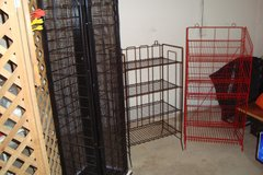 Asst of display racks in DeKalb, Illinois