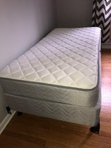 Twin bed w/ frame in Lockport, Illinois