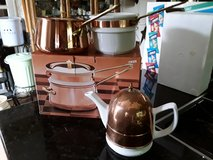 Copper Double-Boiler & Teapot in Fairfield, California