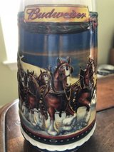 2002 Budweiser Holiday Mug in Fort Polk, Louisiana