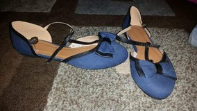 Women's blue flats in Watertown, New York