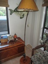 Fishing Rod floor lamp and Fishing sign Man Cave Fathers day in El Paso, Texas