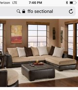 Large sectional great condition in Fort Leonard Wood, Missouri