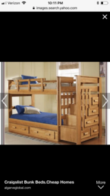 Twin bunk bed in Morris, Illinois
