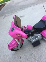 12 Volt  Pink Motorcycle power wheels in Kingwood, Texas