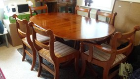 Dining Table with 6 chairs in Lakenheath, UK