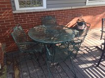 Wrought Iron Patio set in Lockport, Illinois
