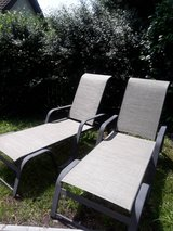 Outdoor lounge chairs in Wiesbaden, GE