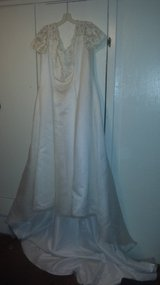 Wedding dress in Fort Riley, Kansas