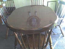Dinning room table in Fort Riley, Kansas