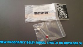 NEW pregnancy belly rings in Fort Irwin, California