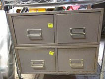 "2 Drawer 5"" x 8"" File Card Steel Cabinet (2 available) in Camp Lejeune, North Carolina"