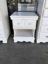 White Nightstand in St. Charles, Illinois