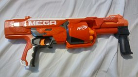 Nerf Rotofury uses Mega darts in Fort Knox, Kentucky