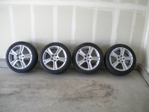 """RC Design Alloy 17"""" rims & Continental ContiSportContact 225/45-R17 Summer Performance Tires in Fort Carson, Colorado"""