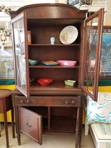 Antique Dish Cabinet #1493-26 in Camp Lejeune, North Carolina
