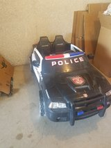 Power Wheel police car in Fort Riley, Kansas
