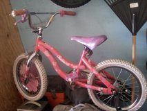 Girls child bike  size 12 in Naperville, Illinois