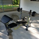 PRO FORM G580 weight set in Fort Leonard Wood, Missouri