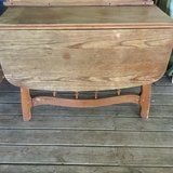 Drop leaf wooden table in Fort Leonard Wood, Missouri