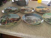 Collectors plates in Fort Leonard Wood, Missouri