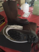 GEORGIA BOOT 11-W WRLLINGTON 10IN. WATERPROOF,COMPOSITE TOE.BRAND NEW NEVER WORN in Beaufort, South Carolina