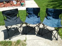 3 Folding outdoor chairs in Chicago, Illinois