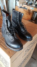 Military style winter boots in Alamogordo, New Mexico