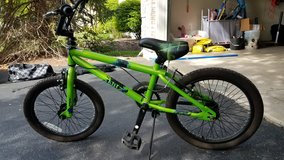 Boys Mongoose Bike with removable training wheels in Lockport, Illinois