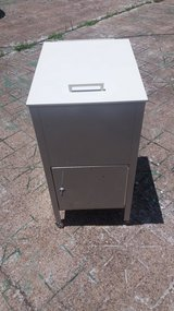 Rolling File Cabinet w/Locking Bottom Compartment in Kingwood, Texas