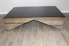 Coffee Table Reclaimed Brazilian Wood by Environment co. in Kingwood, Texas