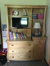 Solid wood hutch and dresser by Pali in Sandwich, Illinois