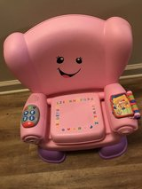 Pink Talking chair with storage compartment in Leesville, Louisiana