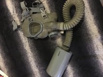 Vintage Authentic US Army World War 2 Gas Mask in Fort Irwin, California