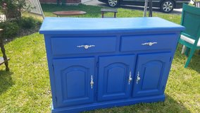 Antique Blue Dresser in The Woodlands, Texas