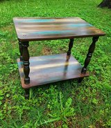 Antique spindle leg side table. in Spring, Texas