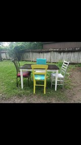 Solid Wood dining set in Spring, Texas