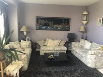 Sofa Set - Beautiful 3 piece set - Loads of cushions!! in Lockport, Illinois
