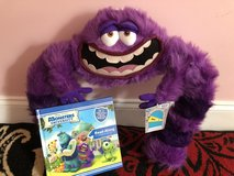 Book with CD and stuffed animal (Art from Monsters Inc.) in Beaufort, South Carolina