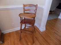 Antique High Chair in Fort Campbell, Kentucky