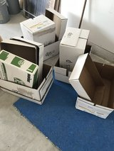 7 computer boxes w lids in Joliet, Illinois