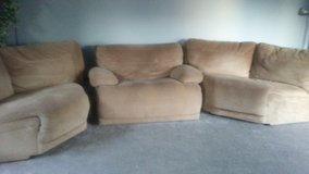 Sectional wedge & Chair in Naperville, Illinois