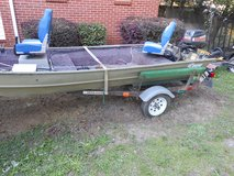 1985 Lowe stick-steer Boat in Perry, Georgia