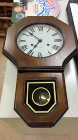 Regulator Wall Clock- Russian- Daekor. 31 day chime, with Roman Numerals & key in Westmont, Illinois