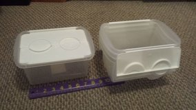 Small Storage Bin with Hinged Lids (5 available) in Bolingbrook, Illinois