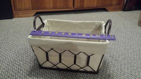 Sturdy Lined Metal Basket in Glendale Heights, Illinois