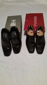 Mens Black Dress Shoes(2 Pairs) in Leesville, Louisiana